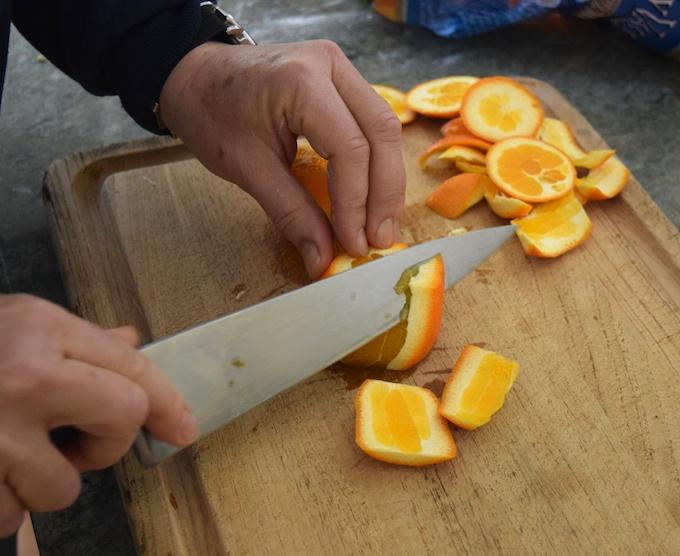 cutting oranges 2
