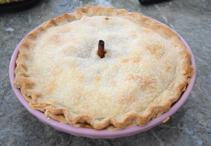 Classic Apple Pie . The cinnamon stick adds flavor and is also the ...