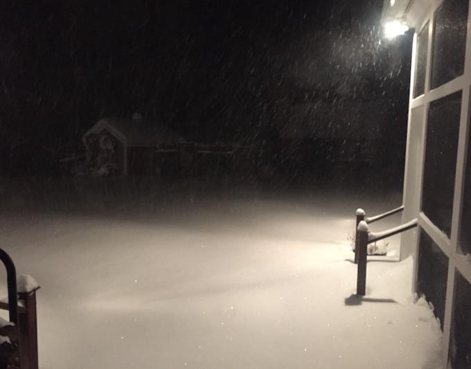 blizzard start