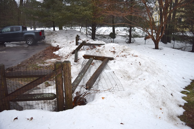 downed fence