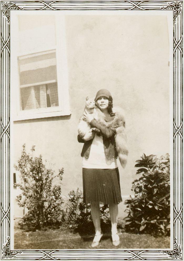 Lindy, taken last summer 1931