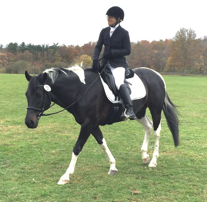relaxed under saddle